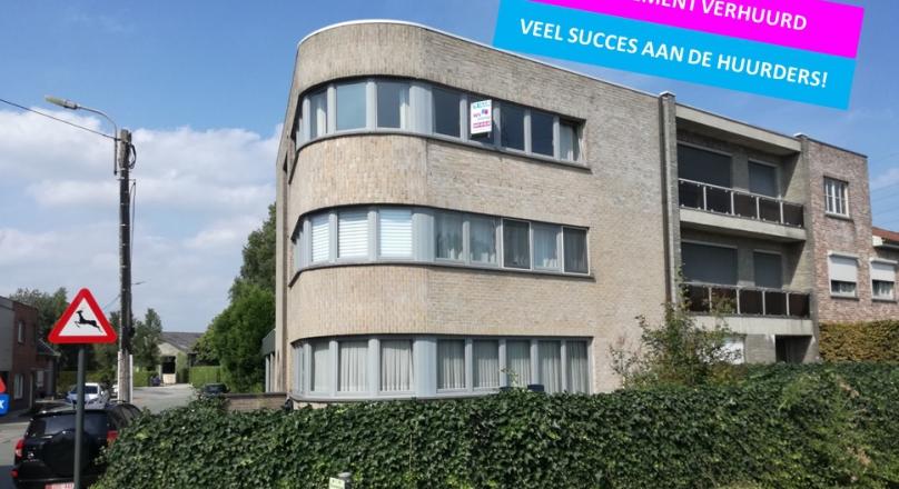 Ruim appartement met 2 slaapkamers vlakbij Dendermonde