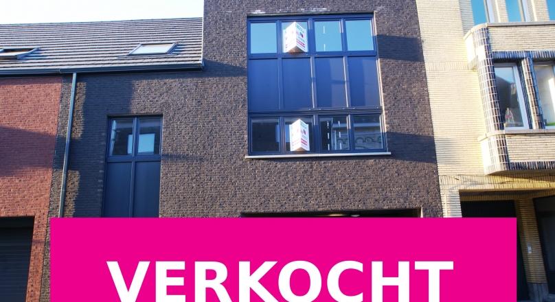 Nieuwbouwappartement met 2 slaapkamers (2de verdiep)